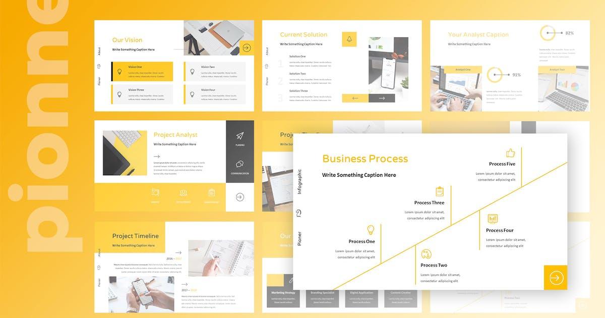 Pionner - Multipurpose Keynote Presentation by TMint
