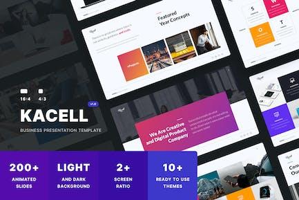 KACELL - Multipurpose Presentation Template (PPTX)