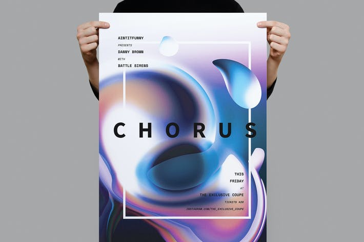 Thumbnail for Chorus Poster / Flyer