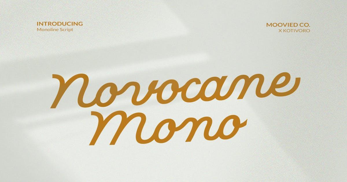 Download Novocane Mono by templatehere