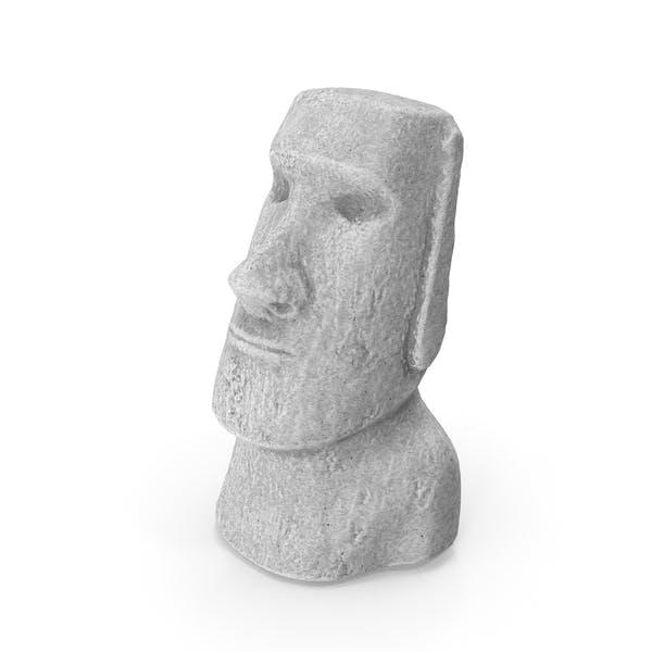 Easter Island Rock Moai Statue