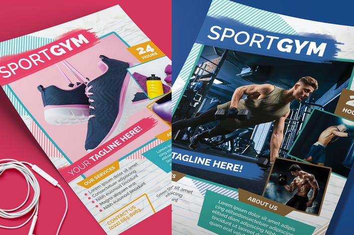 Thumbnail for Fitness & Sport Flyer