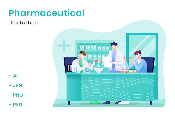 Thumbnail for Pharmaceutical Illustration