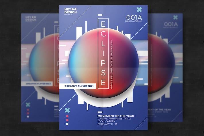Thumbnail for Kreative Abstrakte Flyer Poster Vorlage