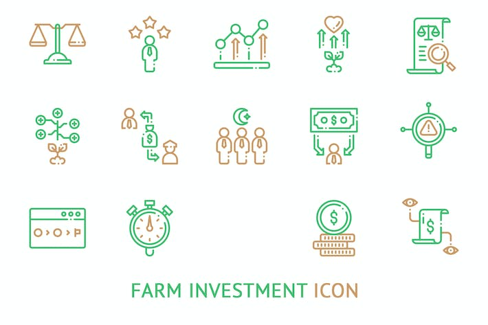 Thumbnail for Farm Investment Icon