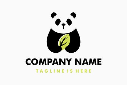 Panda Leaf Logo