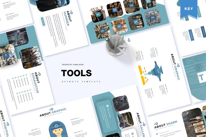 Cover Image For Tools | Keynote Template