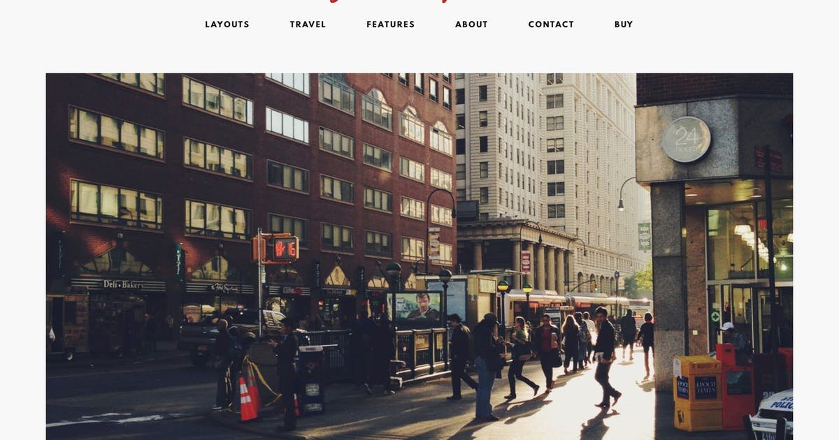 Download Storyteller — A Minimalist WordPress Blog Theme by MauerThemes
