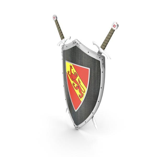 Schild Schwert Kleiderbügel