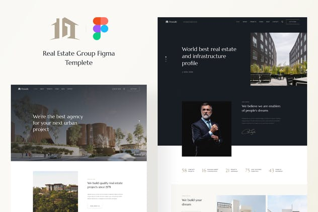 Housale - Real Estate Group UI Template