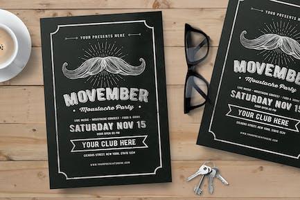 dépliant Movember