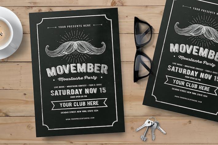 Thumbnail for Movember Flyer