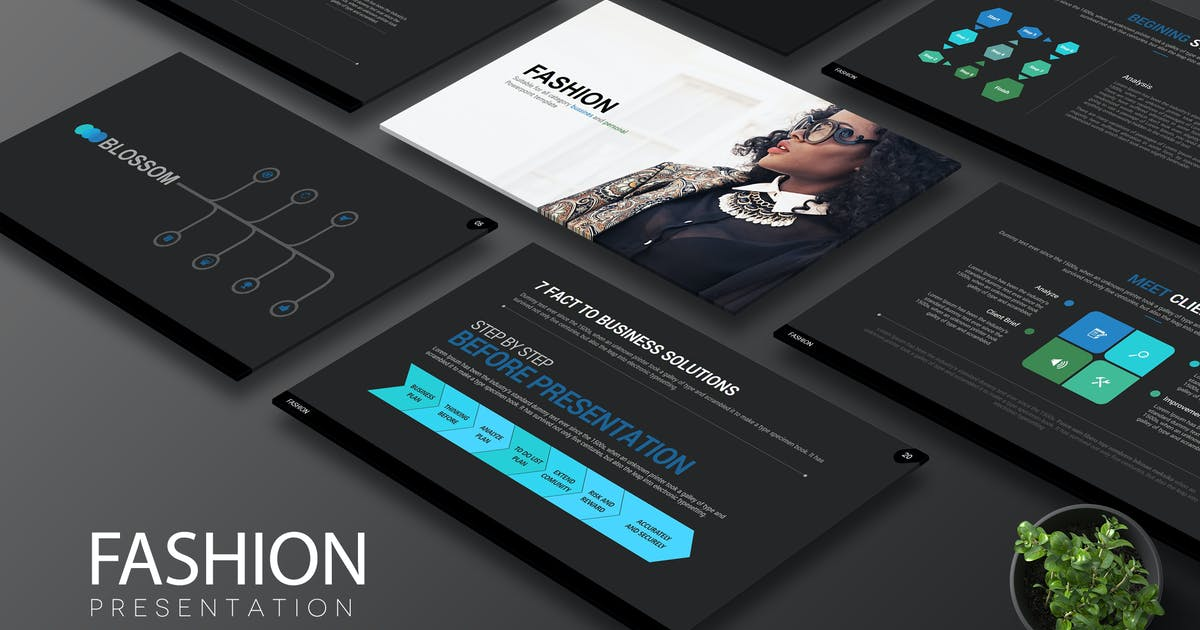 Download Fashion Powerpoint by Artmonk