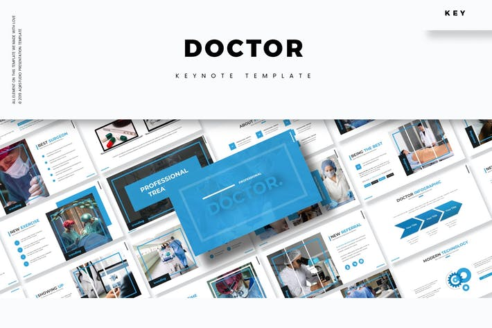 Thumbnail for Doctor - Keynote Template