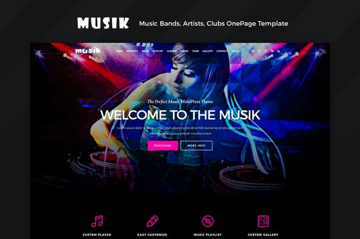 Thumbnail for Musik - Music Bands, Artists, Musicians, Clubs