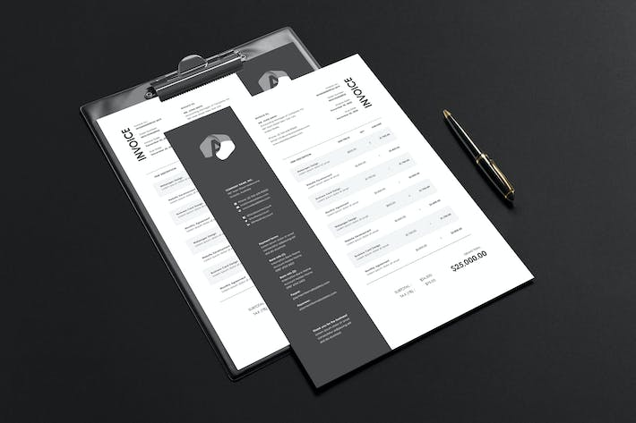 Thumbnail for Invoice Template 23