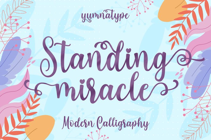 Thumbnail for Standing Miracle Script