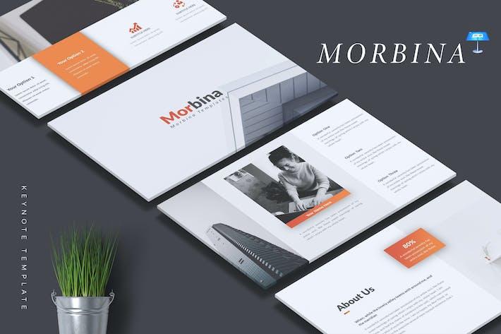 Thumbnail for MORBINA - Firmenprofil Keynote Vorlage