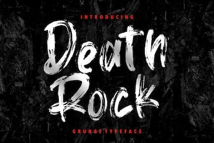 Death Rock Grunge Tipo de letra
