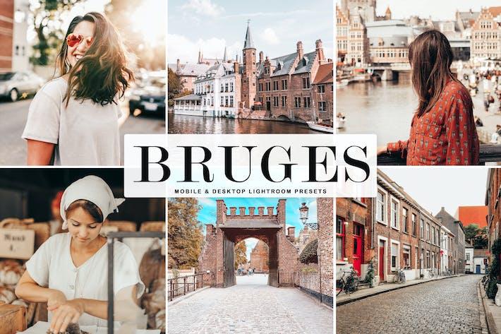 Thumbnail for Bruges Mobile & Desktop Lightroom Presets