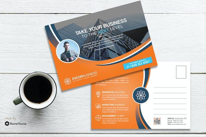 Thumbnail for Excor - Carte postale Creative Entreprise HR