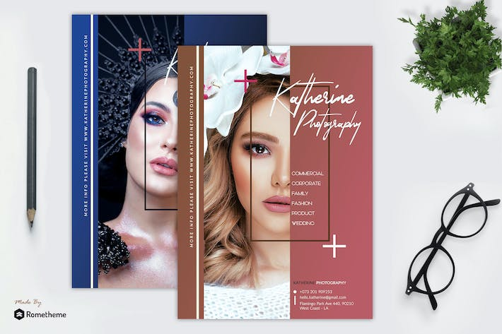 Thumbnail for Angle - Photography Flyer Template RY