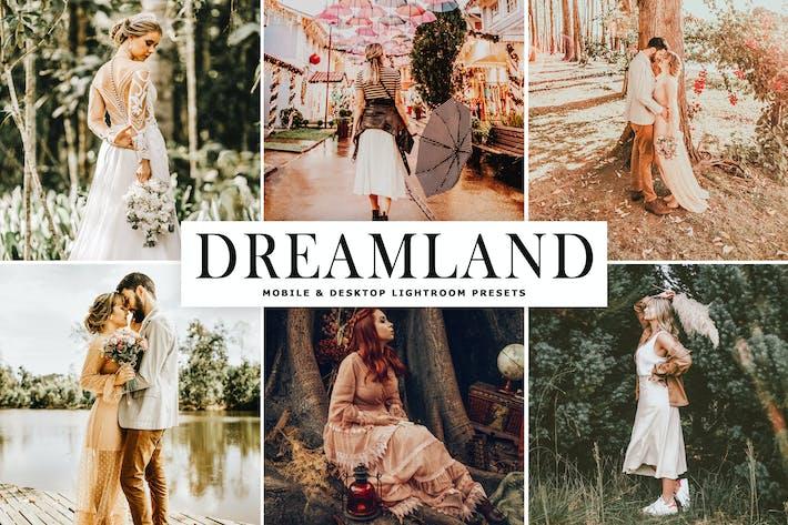 Thumbnail for Пресеты Lightroom Dreamland для мобильных и настольных ПК
