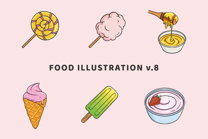 Thumbnail for Food Illustration V.8