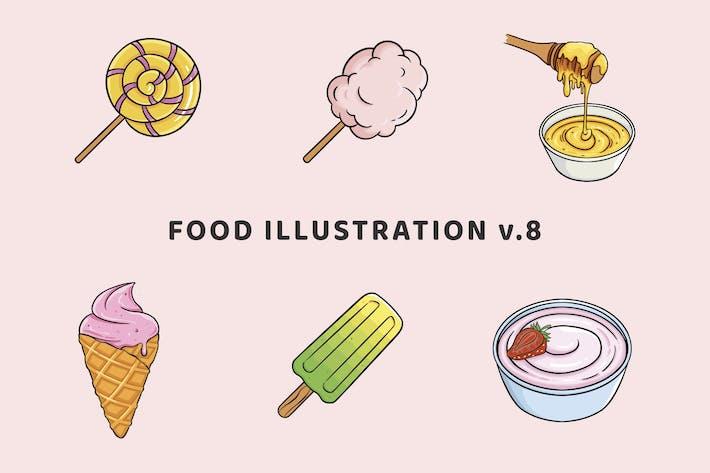 Thumbnail for Food Illustration V.8
