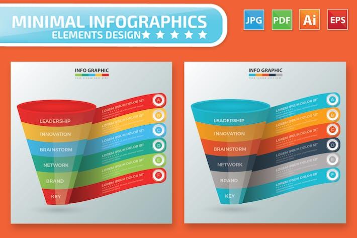 Thumbnail for Funnel Infographic Design