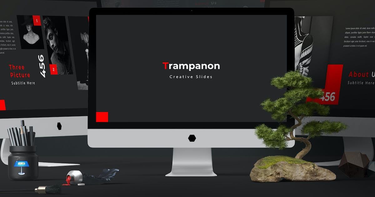 Download Trampanon - Keynote Template by aqrstudio