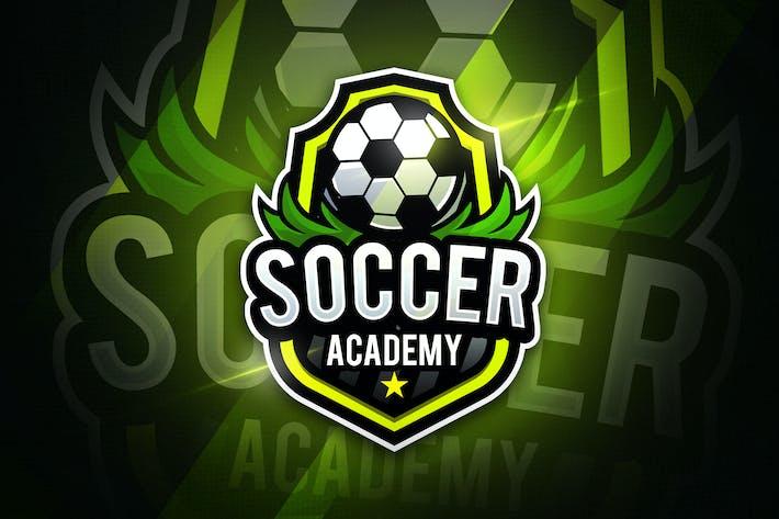 Thumbnail for Soccer Academy - Mascot & Esport Logo