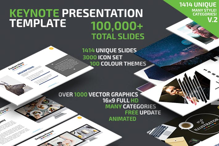 Thumbnail for Keynote Presentation Template