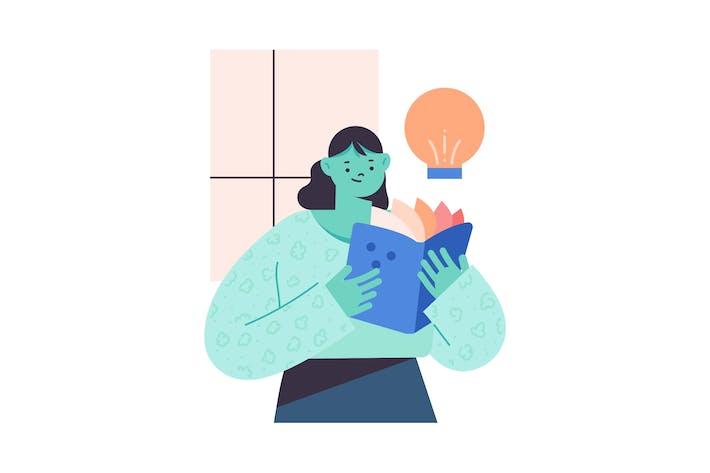 Idea Flat Illustration
