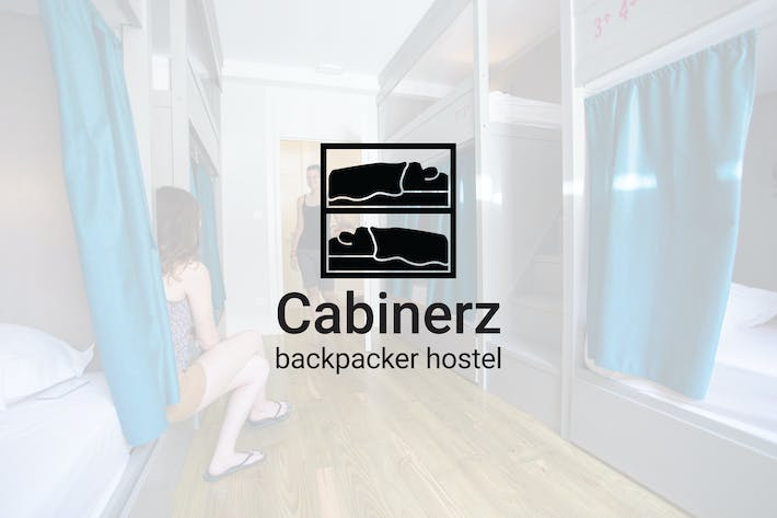 Cover Image For Cabinerz : Backpacker Hostel Logo