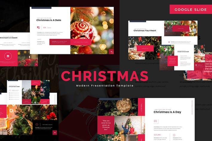 Thumbnail for Christmas - Google Slide Template