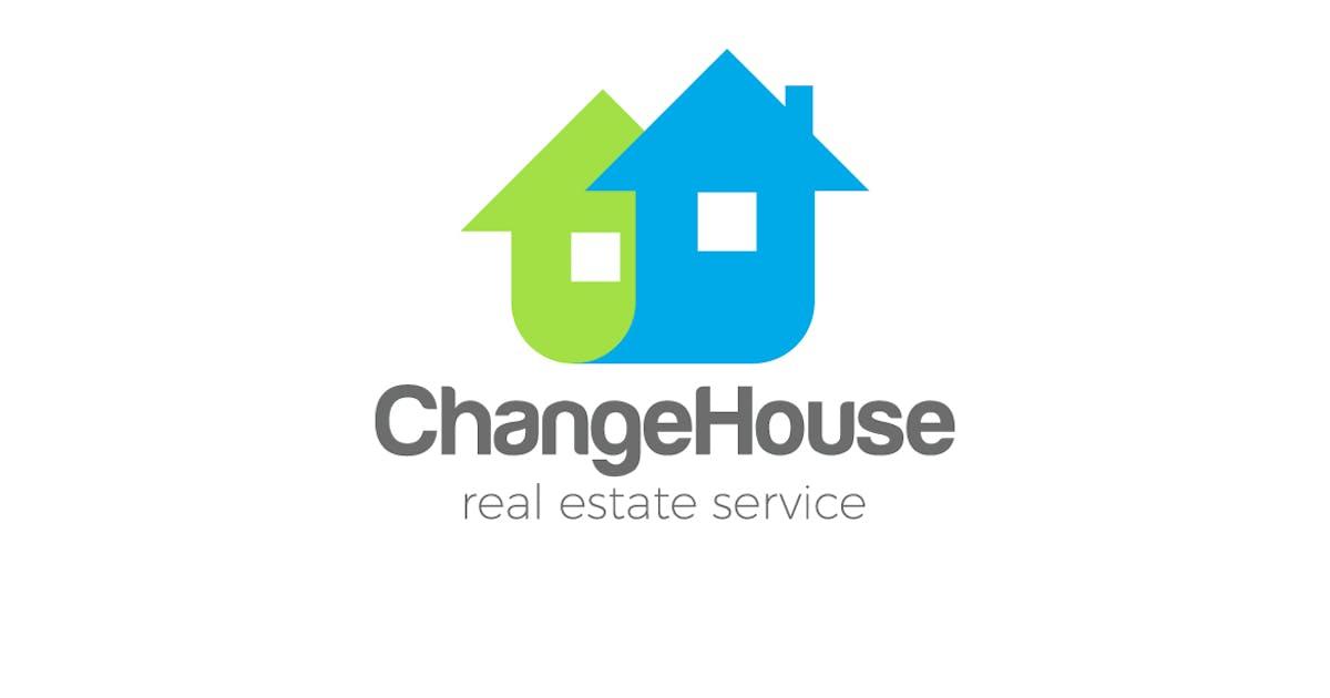 Download Logo Real Estate services as Arrows Houses by Sentavio