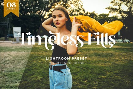 Lightroom Presets - Timeless Fills Retro Tone - TW
