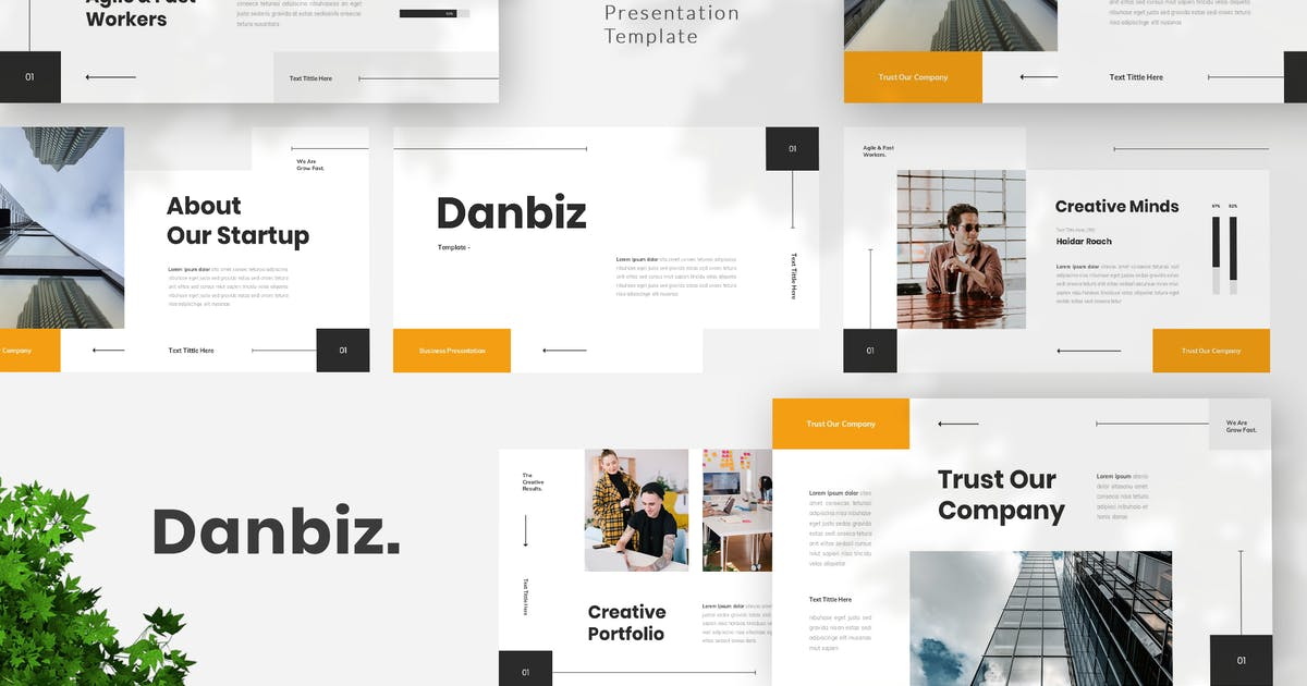 Download Business Keynote Template by StringLabs