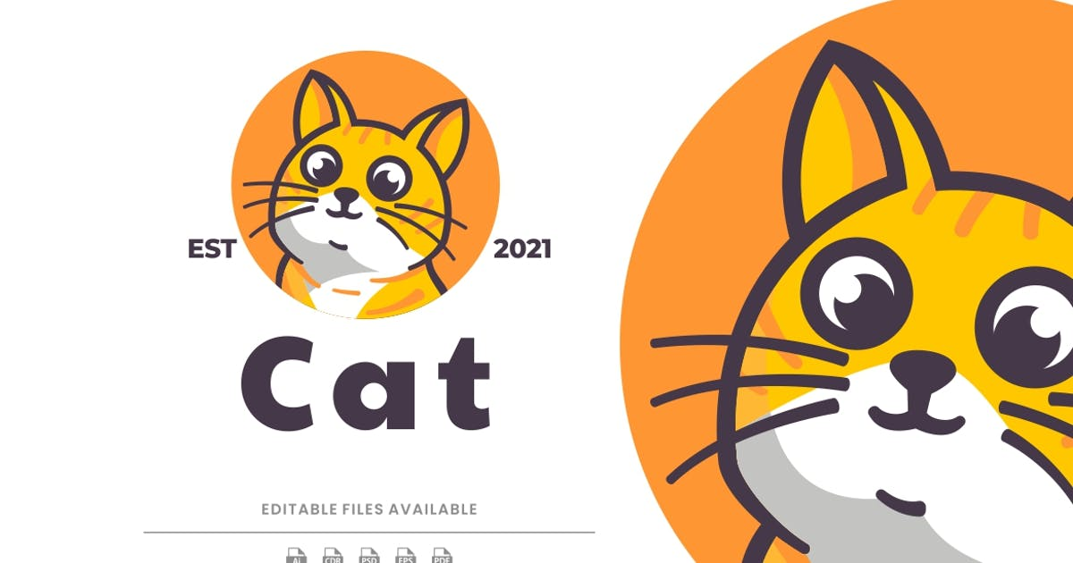 Download Cat Cartoon Logo by artnivora_std