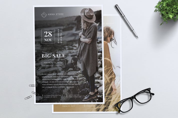 Thumbnail for ANNA Fashion Sale Flyer