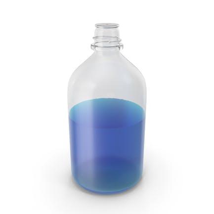 Laboratory Bottle Big With Isopropanol