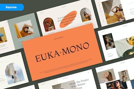 EUKA - Creative Aesthetic Keynote Template