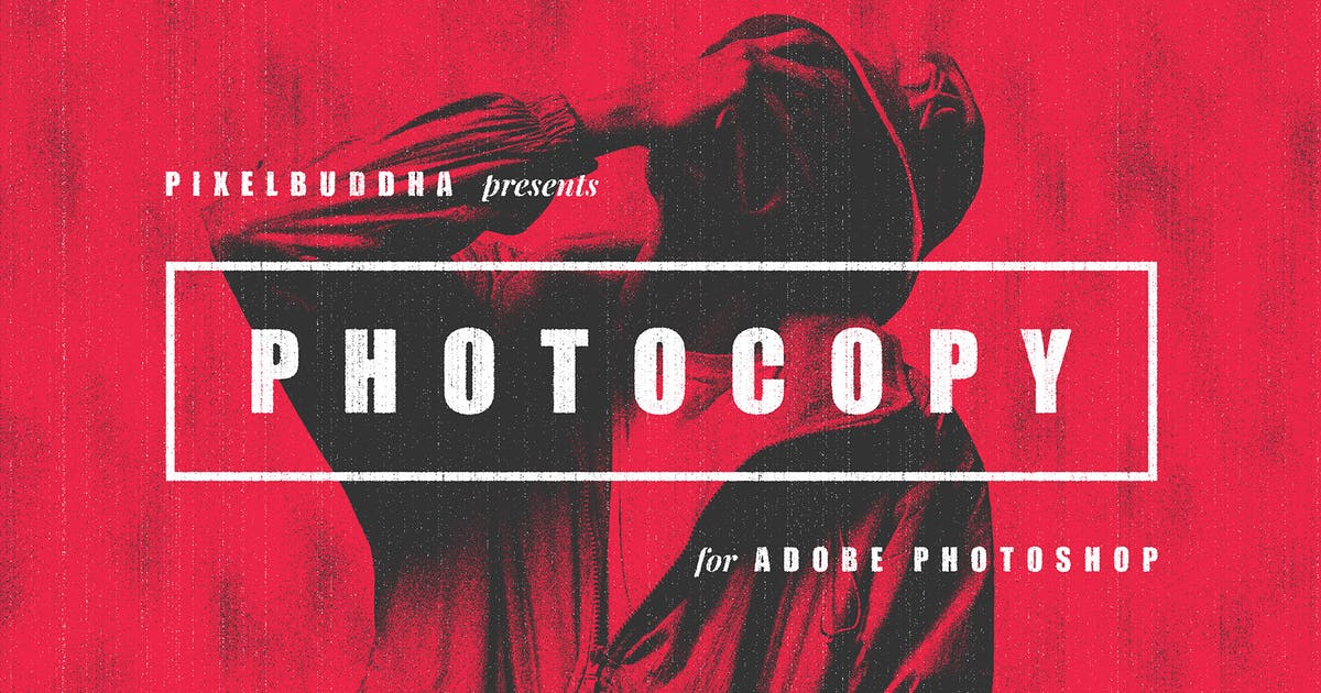 Download Retro Photocopy Effect by pixelbuddha_graphic
