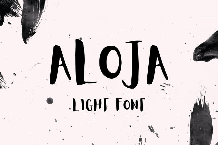 Cover Image For Aloja Light Font