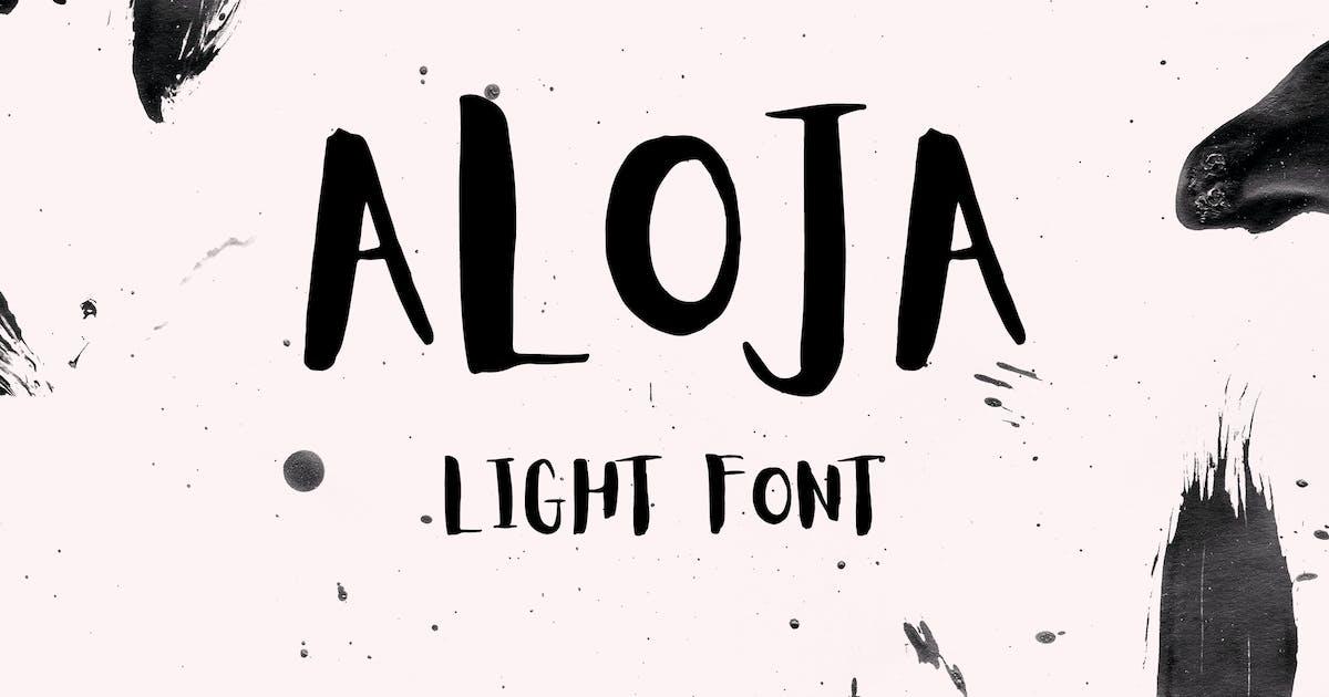 Download Aloja Light Font by WildOnes