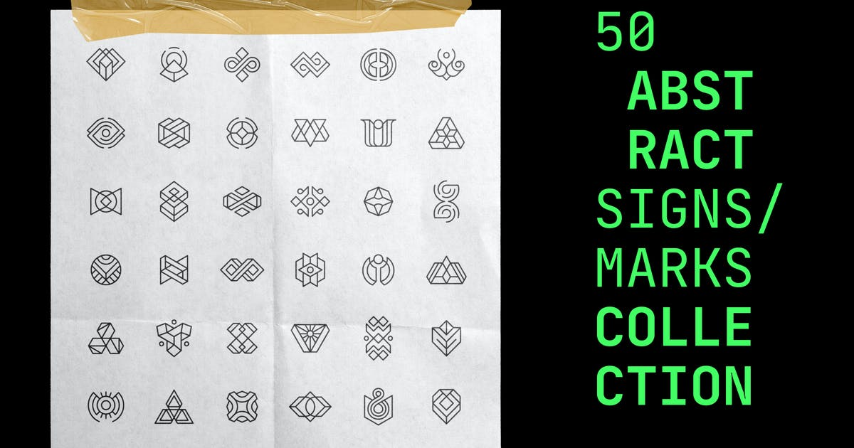 Download 50 Abstract Logos / Signs / Marks Collection by bulbfish