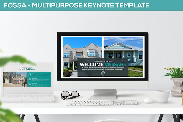 Thumbnail for Fossa - Multipurpose Keynote Template