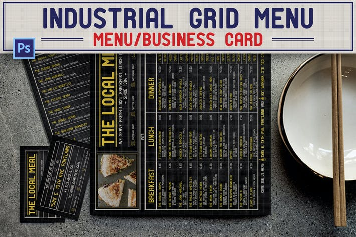 Thumbnail for Industrial Grid Menu