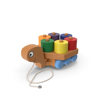 Pull Turtle Toy